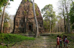Sambor Prei Kuk bei Kampong Thom